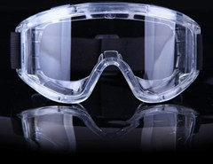 Protective glasses / face mask material